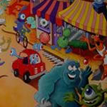 Monster Inc. Mural